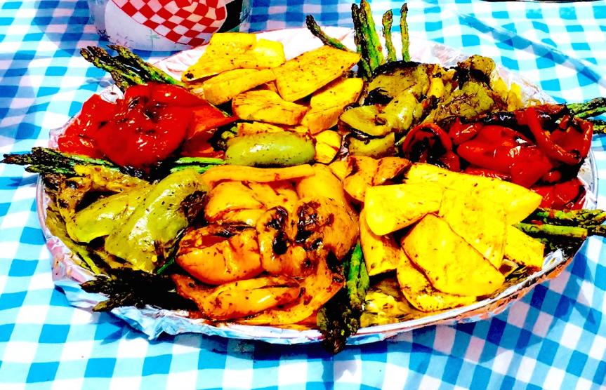 #grilledvegetables #chefmickbrown #bbqrescues