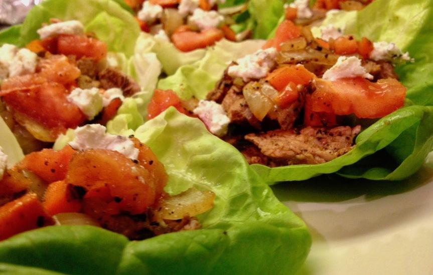 #grilled #steak #lettuce #wraps #tacoseasoning #homemade