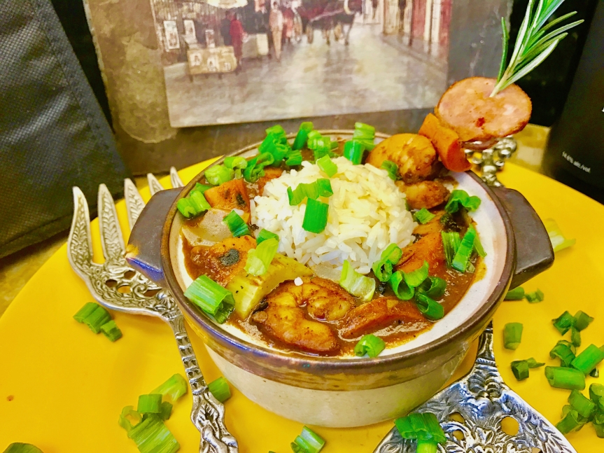 """""""Not-So"""" Fat Tuesday GrilledGumbo"""