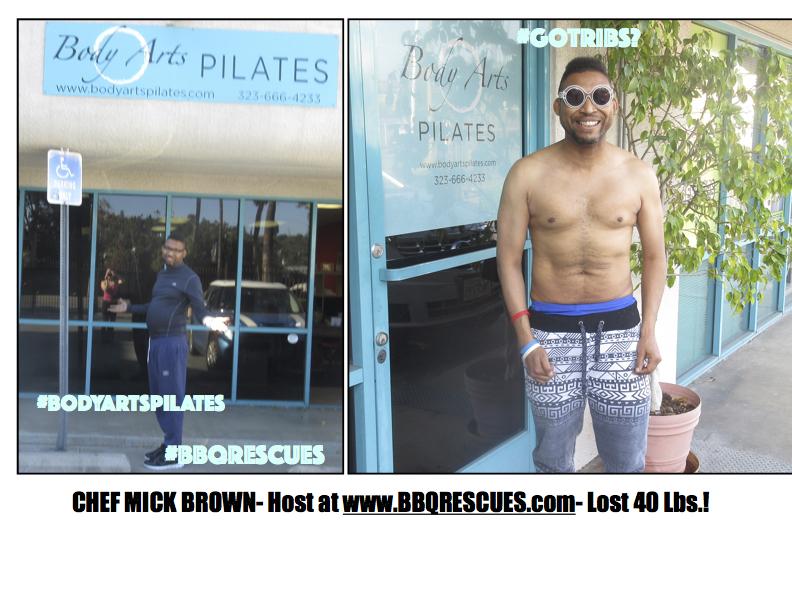 #chefmickbrown #mickbrown #bodyartsplates #losangeles