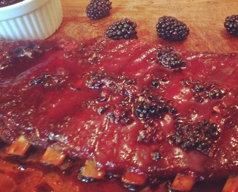 #Ribs #Berries #Sauce #SouthernKrunk #RandyHill