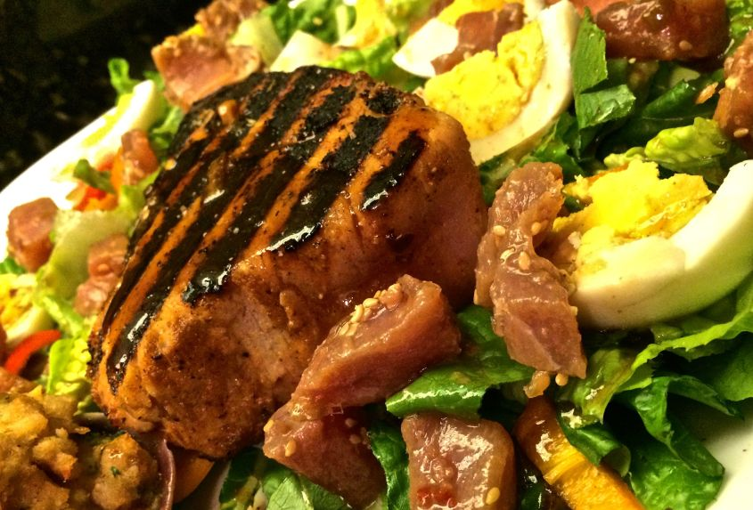 #healthybbq #healthygrilling #tuna #salad