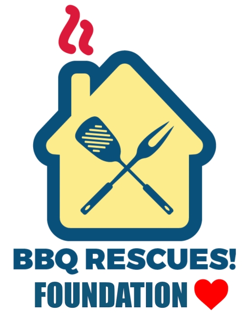 #BBQ #RESCUES #FOUNDATION #LOGO