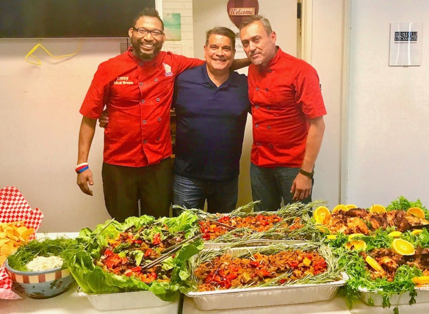 #HHCLA #ChefMickBrown #BBQ #Luncheon #HomelessHealthcareLosAngeles #BBQRESCUESFoundation
