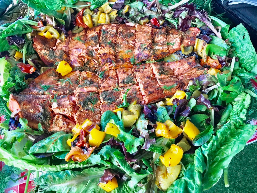 Salmon Salad 7:17 UPW